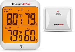 ThermoPro TP63A Waterproof Indoor Outdoor Thermometer