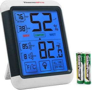 hermoPro TP55 Digital Hygrometer Indoor Thermometer